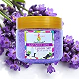 Aromakrafts® Epsom Bath & Foot Spa Salt enriched with Lavender Love Aroma 350g
