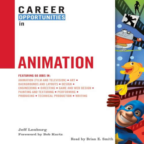 Career Opportunities in Animation audiobook cover art