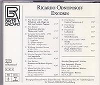 Ricardo Odnoposoff- Encores 2