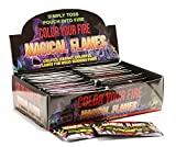 Magical Flames - (Pack of 100) Campfire, Fireplace, Bonfire, Colorant Packets - Creates Vibrant, Colorful Flames for Wood Burning Fires!