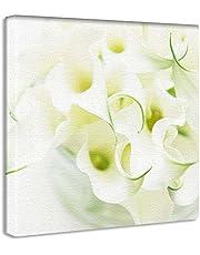 【アートデリ】竹内陽子のファブリックパネル インテリア 雑貨 アート 花 写真 yt-300-white-002