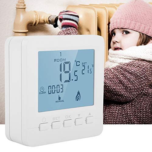 Eastbuy Thermostats - Verwarming Temperatuur Controller Digitale LCD Display Thermostaat Smart Temperature Controller 5A