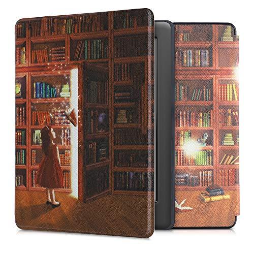 kwmobile Custodia Compatibile con Kobo GLO HD/Touch 2.0 - Cover in Simil Pelle Magnetica Flip Case Custodia per eReader Multicolore