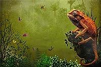 ChuYuszb puzzle 大人のための木製ジグソーパズル1000ピースカメレオンとジャングルパズルゲームの昆虫家の装飾ギフト