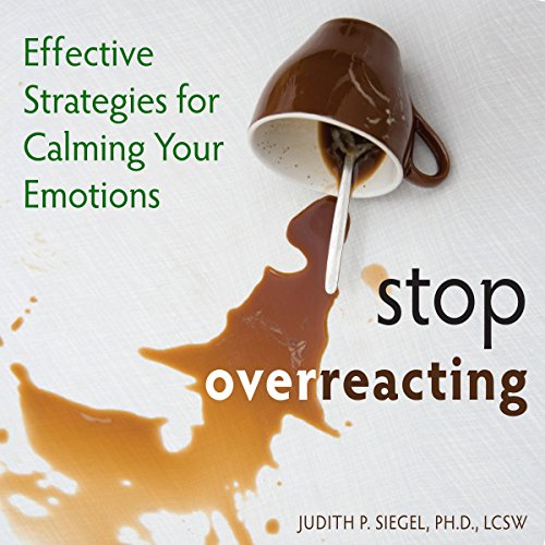 Stop Overreacting audiobook cover art