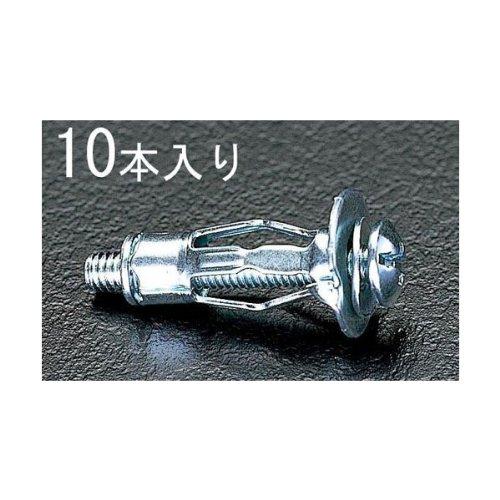 JS79037 M6/3-16mm用 ボードアンカー[10本]【キャンセル不可】