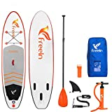 "Freein SUP All Round Inflatable Stand Up Paddle Board 10'2''Long 31"" Wide 6"""