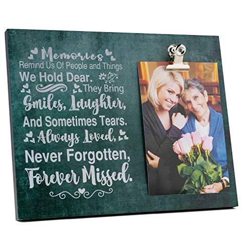 Majestic Zen's- 8'x10' Memorial Picture Frame   Elegant Sympathy Gift...