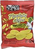Samai Chips de Banane Plantain Pimentes 75 g - Lot de 5