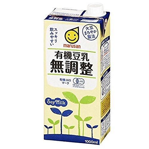 マルサン 有機豆乳 無調整 1000ml
