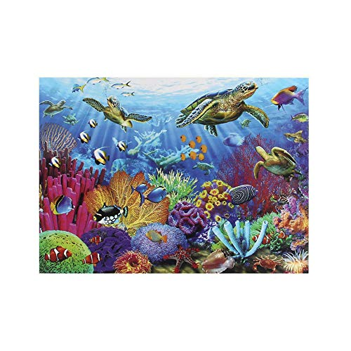NIANMEI 1000 Piece Sea World Theme Adult Children Wooden Puzzle Best Toy for Kid Beautiful Christmas Pattern Jigsaw Puzzle