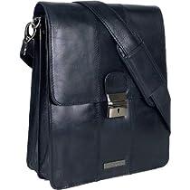 UNICORN (ユニコーン) レアルレザーブラックビジネスブリーフケースバッグ Real Leather Business Briefcase Bag Black #5N