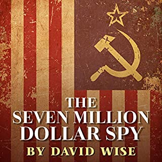 The Seven Million Dollar Spy audiobook cover art