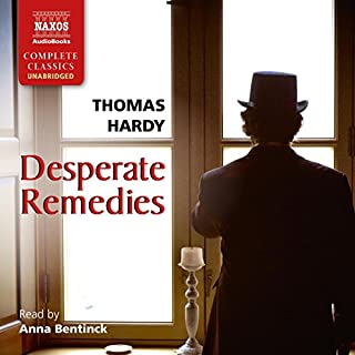 Desperate Remedies audiobook cover art