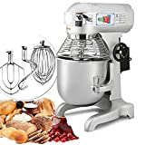 INTBUYING Dough Kneading Machine Commercial Food Stand Mixer Double -speed...