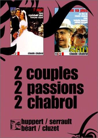 Coffret Claude Chabrol 2 DVD : Rien ne vas plus / L'Enfer [FR Import]
