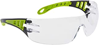 Portwest Tech Look Eye Wear Protection Protective Glasses Goggles Spectacles ANSI/ISEA Z87.1, Clear
