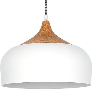 Tomons Lámpara Colgante LED Lámpara de techo Blanco Escandinavo Moderno Estilo para la Sala Comedor Restaurante