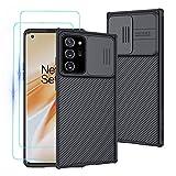 Custodia per Samsung Galaxy Note 20 Ultra, Case CamShield [Protezione Fotocamera] Bumper...