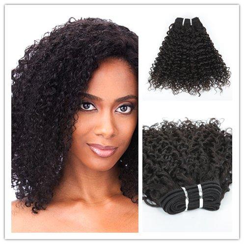 Wigsroyal Brazilian Hair Jeri Curl Human Hair 12 Inch,Natural Color,4Oz/Bundle, 3 Bundles(12' 12' 12')