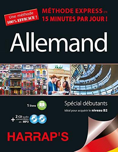 Harrap's Méthode Express Allemand 2CD+livre