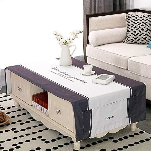 Creek Ywh Manteles Manteles para Muebles De Patio Manteles De Mesa para Fiestasestilo Nórdico Ins Mesa De Café Mantel Sala De Estar Impermeable Tela Mantel Gabinete De TV Mantel Rectangular IKEA