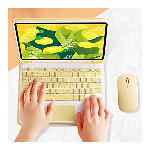 Lfhing Keyboard Case Cover mit Abnehmbarer drahtloser Bluetooth-Tastatur für Stifthalter