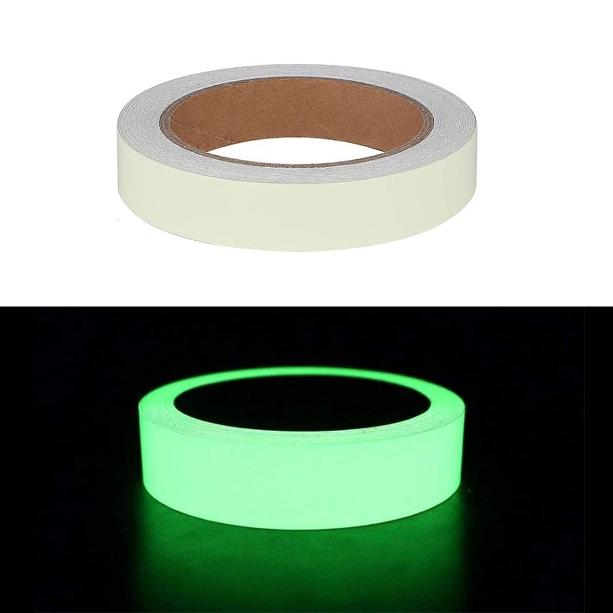 Glow in The Dark Tape, 33 ft x 0.6 inch, High Luminance Photolum