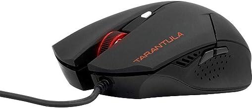 Fortrek Spider Tarantula OM-702 Mouse Gamer, Preto/Vermelho