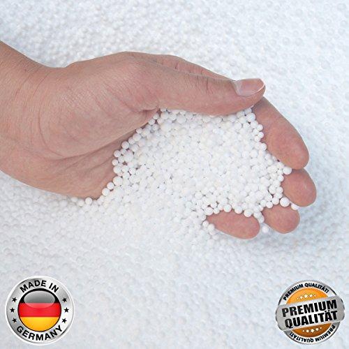 Smoothy EPS Perlen höchste Premium Qualität Nachfüllpack Sitzsack-Füllung; Styropor-Kügelchen (100 Liter)