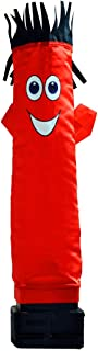 LookOurWay Mini Air Dancers Inflatable Tube Man Set Desktop Size, Red
