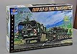 Trumpeter 00203 Modellbausatz FAUN Elefant SLT-56 Panzer-Transporter -
