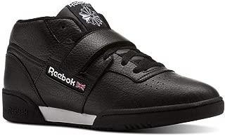 Reebok Classics Workout Clean Mid Strap (Clean-Black/White) Men's Shoes CN3916
