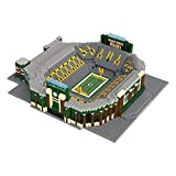 NFL Green Bay Packers 3D Brxlz Stadium Building Blocks Set3D Brxlz Stadium Building Blocks Set, Team Color, One Size