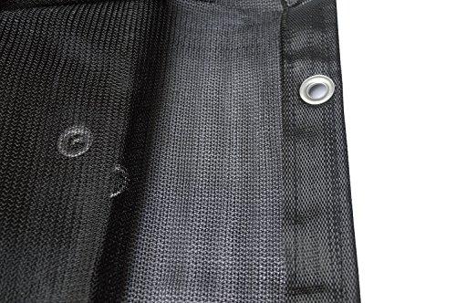 Joryn Shade Cloth 9.8' x 10' Mesh Tarp Shade Net with Grommets