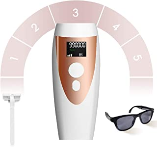 Laser Hair Removal for Women IPL Professional Hair Removal Permanent Painless 990,000 Flashes for Body Legs Bikini Arm Armpits Home Travel Device