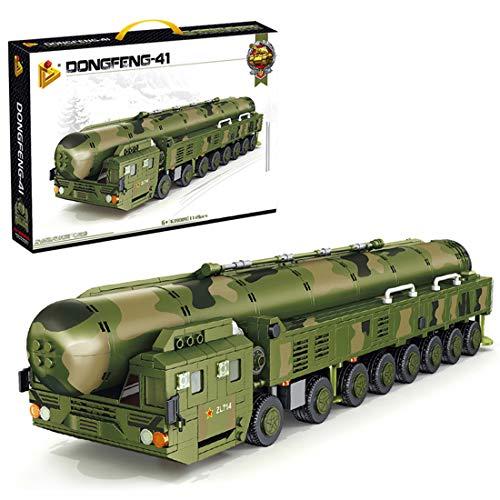 FADY Technik Bausteine Modellbausatz, Intercontinental Ballistic Missile Fahrzeugmodell Modell, Militär Panzer...