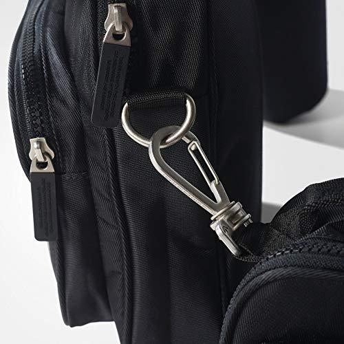 adidas Originals Erwachsene EQT Utility Bag Sporttaschen Schwarz, NS