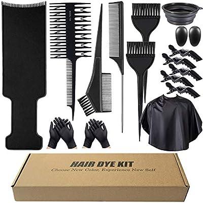 16Pcs Hair Dye Kit Gift for Mom Girfriend, Hair...