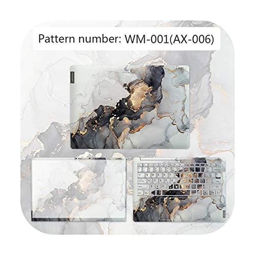 Cubierta de textura avanzada para portátil Pegatina impermeable para Lenovo G40 80/FLEX 3 1570/YOGA 710/etc-WM-001-IDEAPAD 310 14ISK