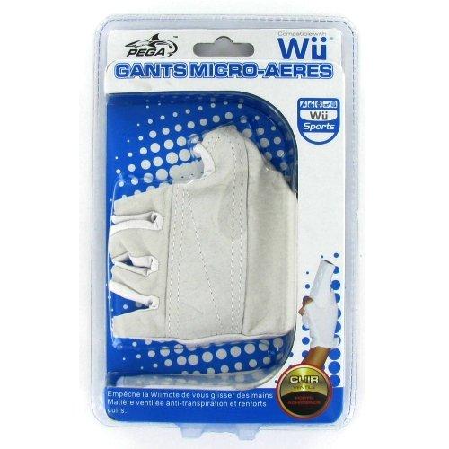 Logic 3 - Paire de Gants Micro-Aeres anti transpiration - pour Console Nintendo Wii