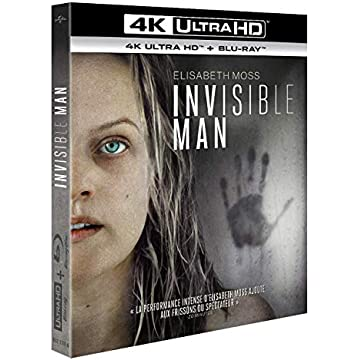 Invisible Man [4K Ultra HD + Blu-Ray]