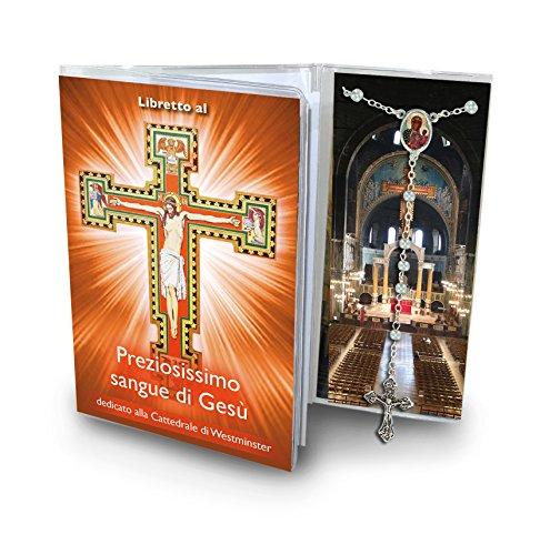 Ferrari & Arrighetti Librito Novena a la Sangre de Cristo (Catedral de Westminster) con Rosario - en Italiano