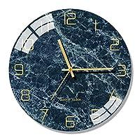 ノルディックモダンガラスの壁掛け時計キッチンクリエイティブな壁を見る家の装飾リビングルームのサイレントクロック (Color : Style 5, Size : 10 inch)