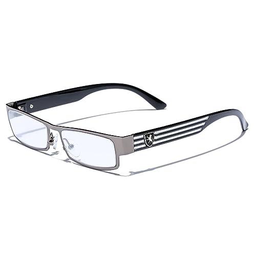 9e2969022b Rectangular Frame Women s Men s Designer Sunglasses Clear Lens RX Optical  Eyeglasses