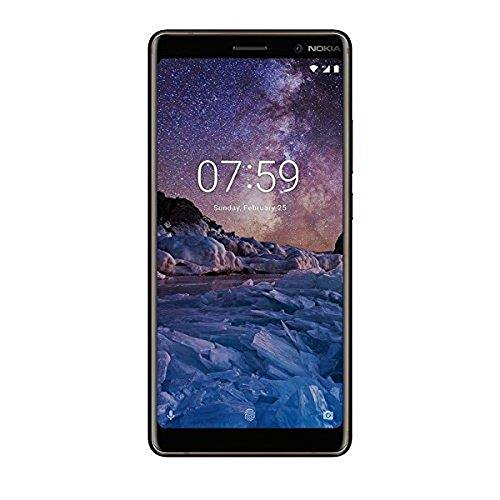 Nokia 7 Plus Smartphone da 64 GB/4 GB RAM, Single SIM, Nero/Copper [Italia]
