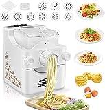 TOPQSC Hogar Máquina para Hacer Pasta eléctrica Hacer Pasta eléctrica Máquina automática con 9 Cabezales para Pasta, Espagueti o macarrones