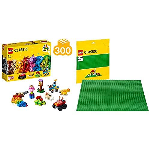 Lego Set Di Mattoncini Di Base &ClassicBaseVerdeExtraPerCostruzioni,Piattaforma25CmX25Cm,10700