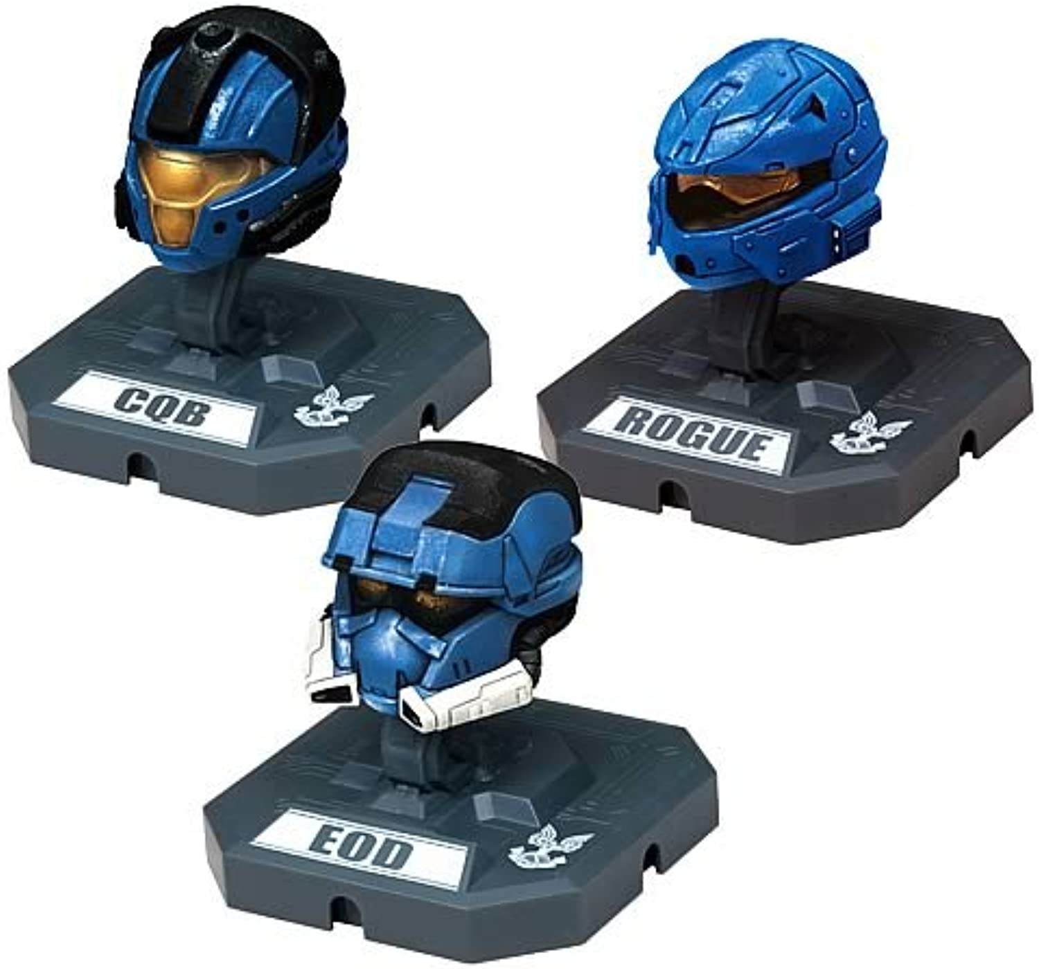 Halo Helmet Collection Series 2  CQB, Rogue, EOD
