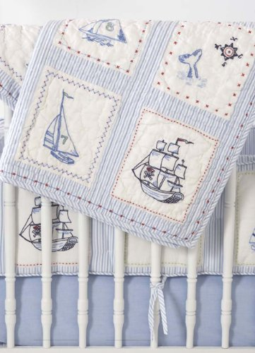 Whistle and Wink High Seas Nursery 614 Quilt
